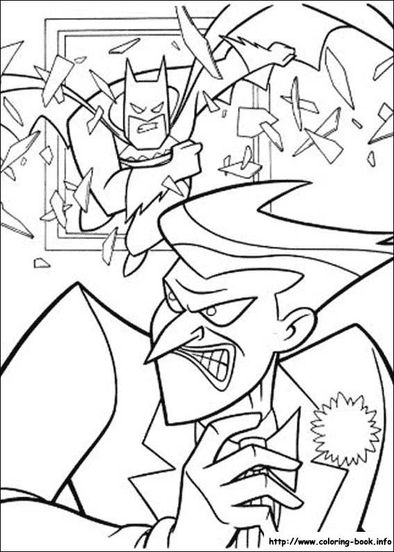 Batman Joker 114 Coloring Picture