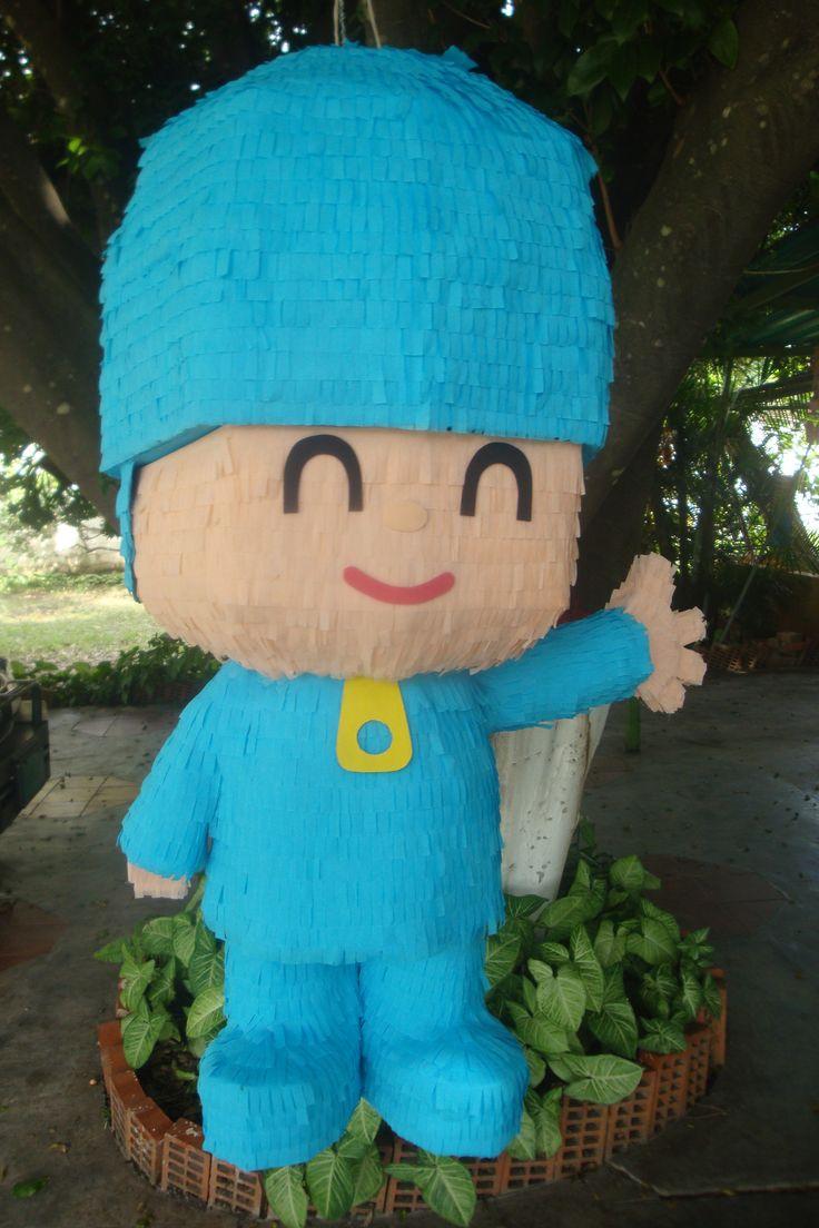 Piñata de Pocoyo @bpdisenos y facebook bpdisenos.