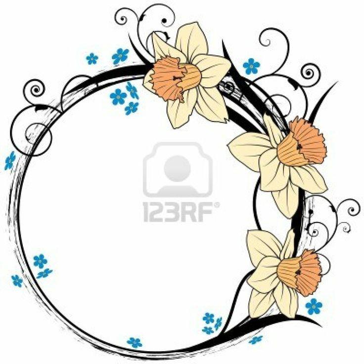 Narcissus Flower Drawing Tattoo   www.imgkid.com - The ...