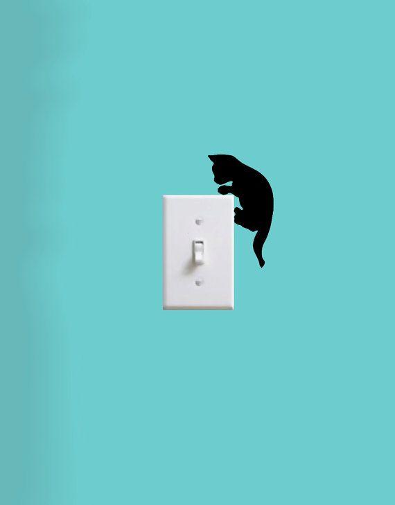 Light Switch Decals  animals by edithandelizabeth on Etsy