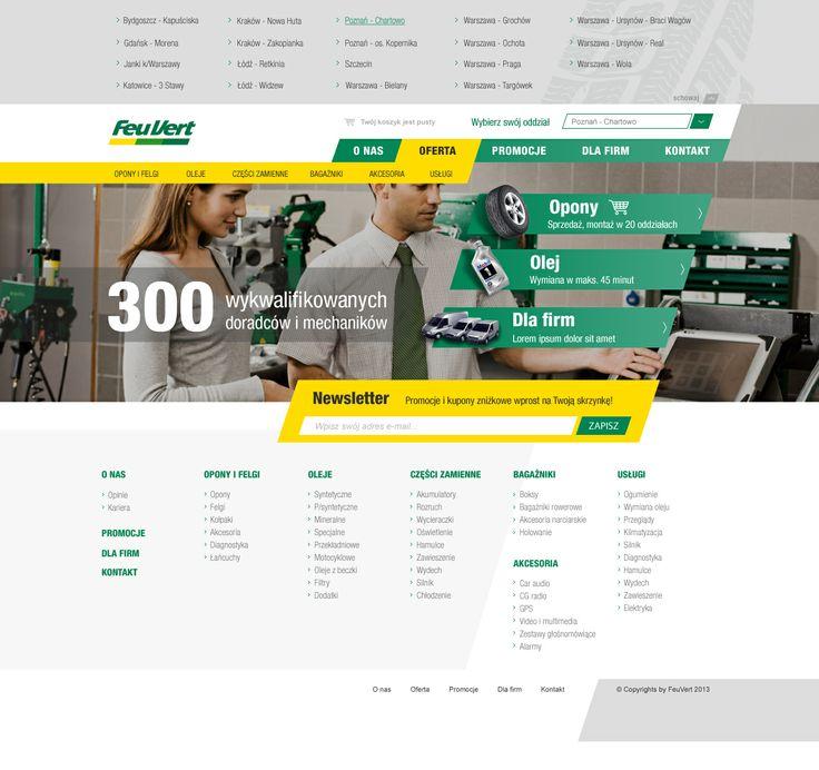 FeuVert layout. For more visit: http://be.net/mareklasota