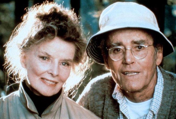 """Katharine Hepburn und Henry Fonda in """"On Golden Pond"""" 1981"""