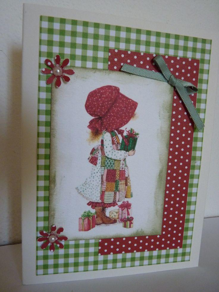 christmas card hollie hobby inspiration
