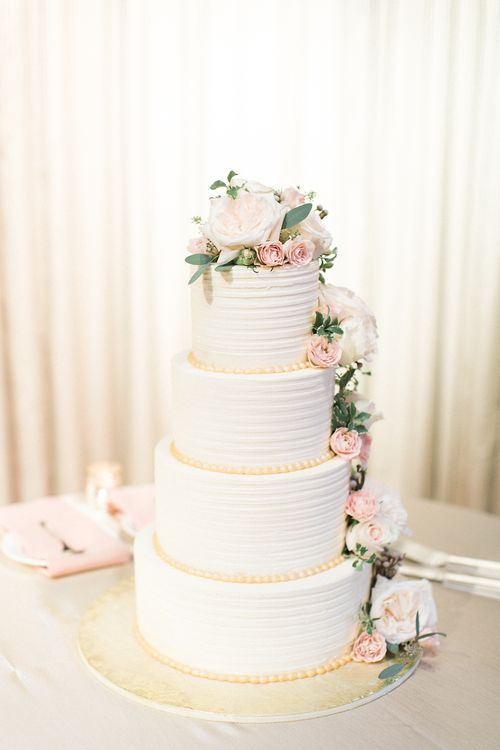 four tier wedding cake with flowers best 25 4 tier wedding cake ideas on ivory 14436