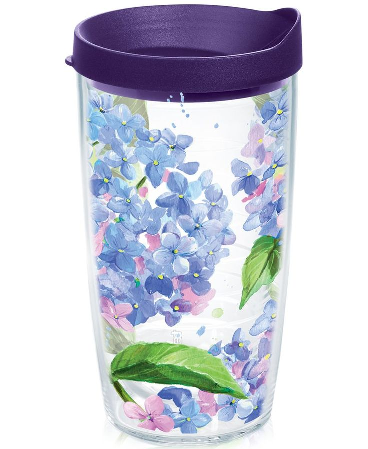 "Bright colors and bold designs add style to every sip from the Tervis Tumbler durable Fashion tumbler. | Plastic | Dishwasher safe | Made in USA | Dimensions: 3.5"" Dia. x 6.56""H 