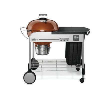 Weber Performer Premium Charcoal Grill Finish: Copper