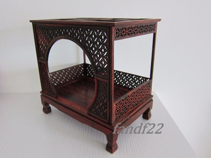 Item: Scale 1:6 Doll Furniture Moon Bed Chinese Mahogany Style. This is good simulation for the dollhouse. Materiel: Mahogany. Condition: New. | eBay!