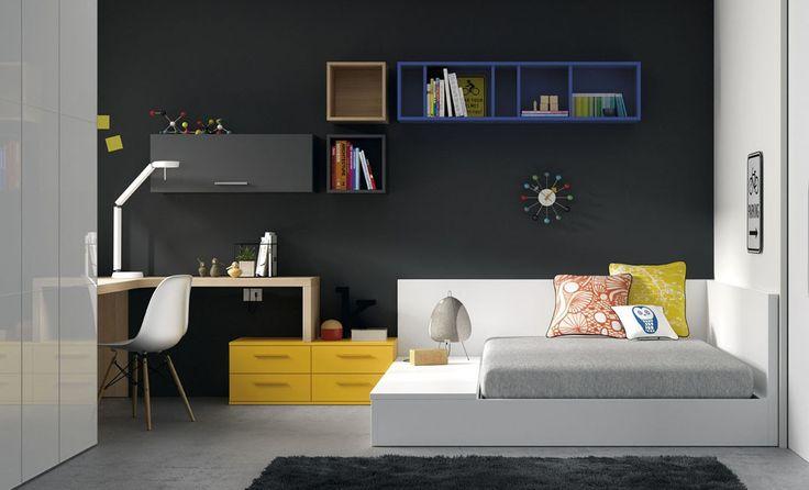Jjp siempre nos sorprende con ideas modernas, y con diseño minimalista para los hogares. ¿Seguro que no estás pensando en algo así para tu hijo? #camajuvenil