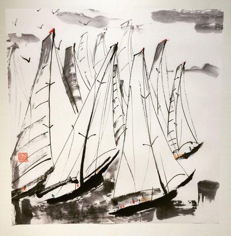 #art #yacht #sumye