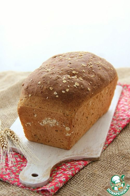 Овсяно-кукурузный хлеб - кулинарный рецепт