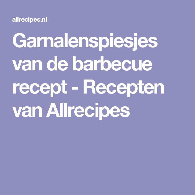 Garnalenspiesjes van de barbecue recept - Recepten van Allrecipes