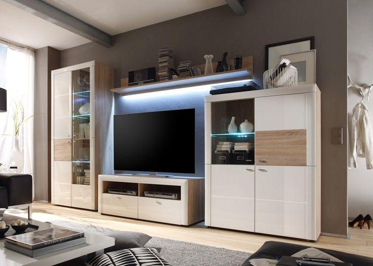 best 25 wohnwand weiss ideas on pinterest wohnzimmer. Black Bedroom Furniture Sets. Home Design Ideas