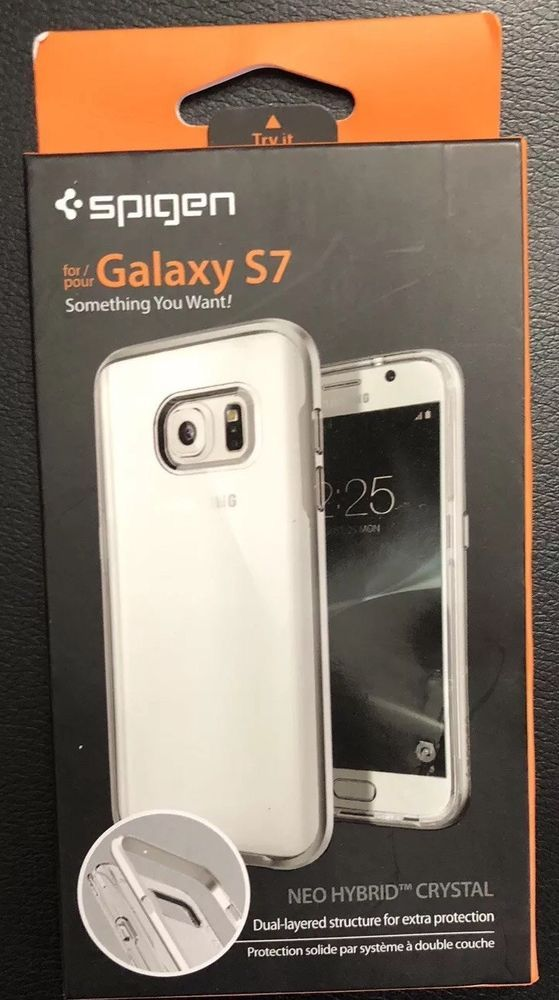 meet 17006 f6ba8 Details about NEW Spigen Samsung Galaxy S7 Neo Hybrid Crystal ...