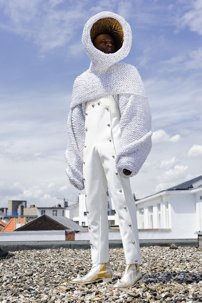 BA Collection 'Algabal', Marius Janusauskas, fashion, astronaut, thisispaper…