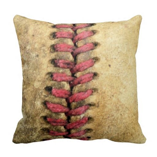 Throw Pillow Website : >>>The best place Vintage Baseball Throw Pillow Vintage Baseball Throw Pillow Yes I can say you ...