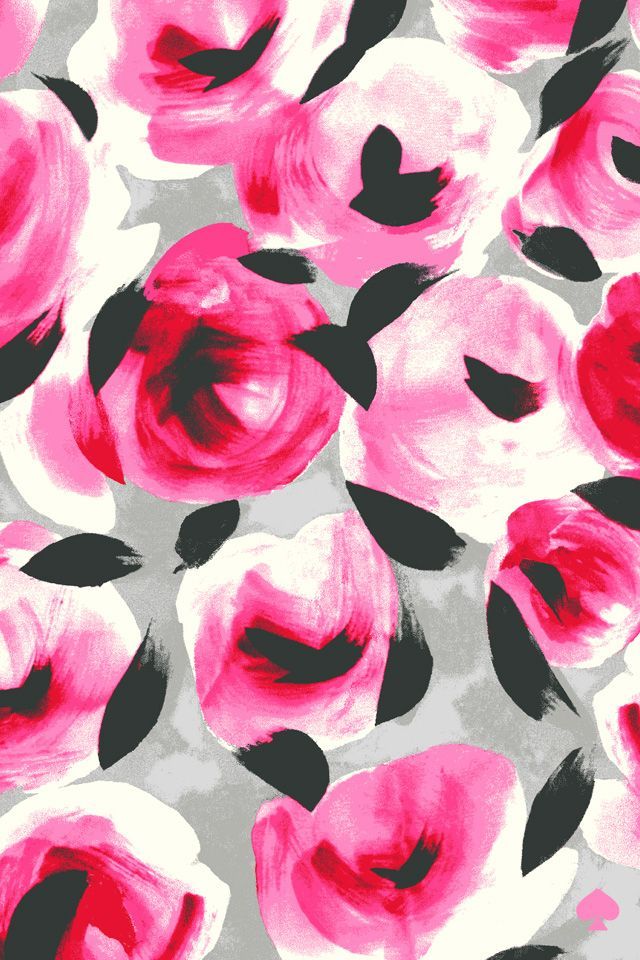 """Kate Spade """"Coming Up Roses"""" mobile wallpapercheck out the rest of my wallpapers here!"""