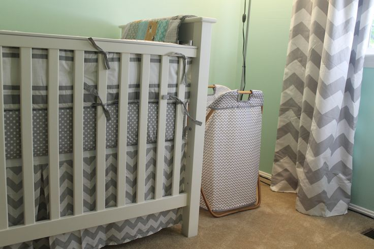 Mint Green Grey Chevron Mustache Nursery Everett 39 S Nursery Pinterest