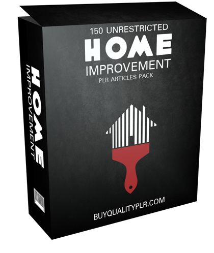150 Unrestricted Home Improvement PLR Articles Pack - http://www.buyqualityplr.com/plr-store/150-unrestricted-home-improvement-plr-articles-pack/.  #homeimprovement #homeimprovementprojects #homeimprovementloan #homemortgage #homeimprovementplan 150 Unrestricted Home Improvement PLR Articles Pack In this PLR Content Pack You'll get 150 Unrestricted Home Improvement PLR Articles Pack with Private Label Rights to help you dominate the Home....