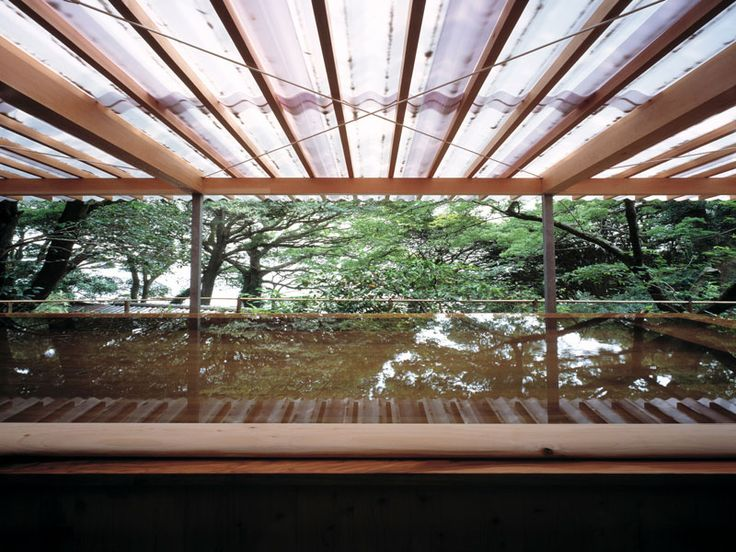 Horai Onsen Bath House | kengo kuma and associates