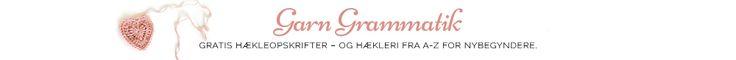 Gratis hækleopskrifter - Garn Grammatik