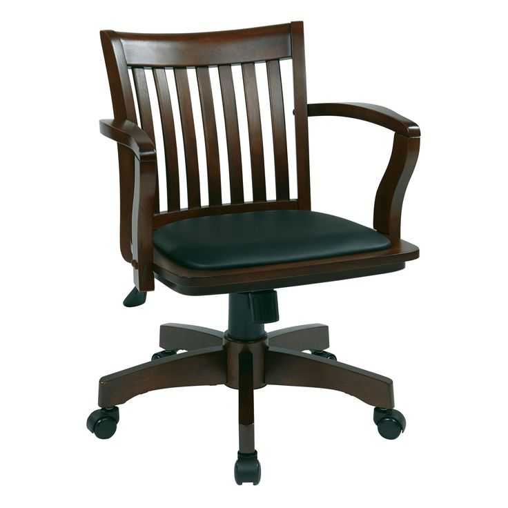 espresso vinyl classic commercial office chair wnailhead. osp designs deluxe wood bankeru0027s chair with vinyl padded seat in espresso finish classic commercial office wnailhead d