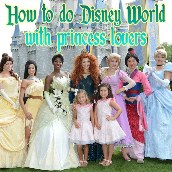 Disney World for princess-lovers – IF my daughter is still into the princesses next year.