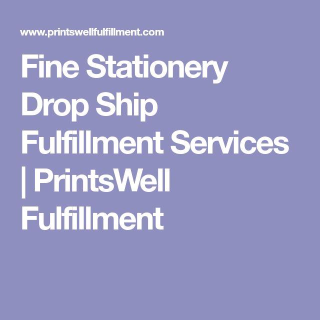 Fine Stationery Drop Ship Fulfillment Services | PrintsWell Fulfillment