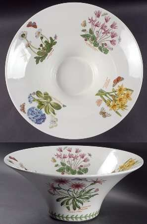 "Amazon.com: Portmeirion Botanic Garden 13"" Mandarin Bowl, Fine China Dinnerware: Kitchen & Dining"