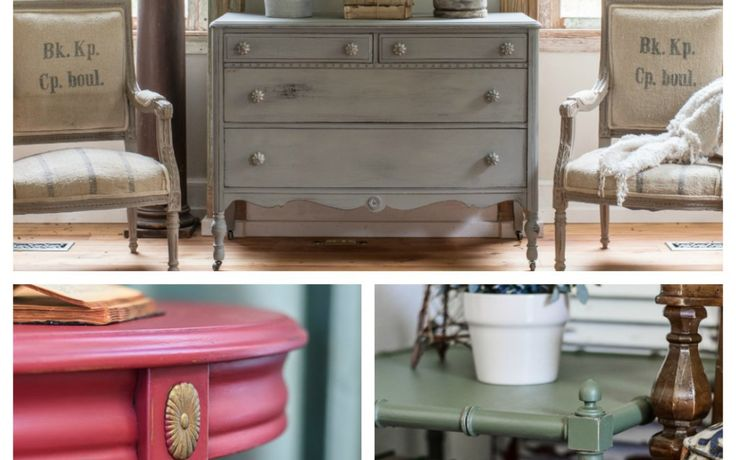 Many tutorials 5 Perfect Fall Paint Colors for Furniture
