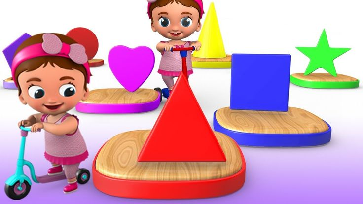 Little Baby Fun Learning Colors & Shapes for Children with Kids Wooden T...