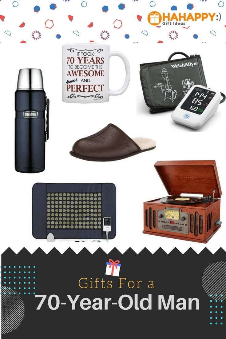 Gifts For A 70 Year Old Man Unique Thoughtful Gifts For Old