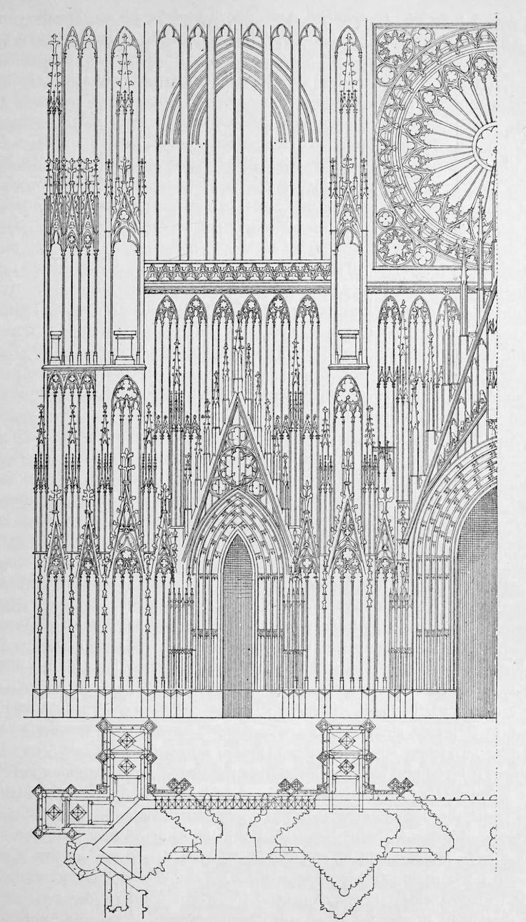 ARCHI/MAPS : Photo | Arch. Drawings - Medieval Buildings ...