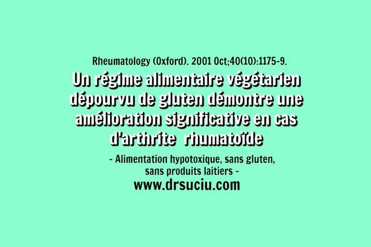 Photo Les bienfaits d'un régime végétarien sans gluten en cas d'arthrite rhumatoïde - drsuciu