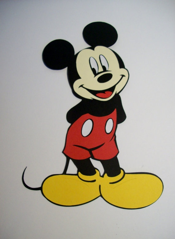 mickey mouse cut s - photo #30