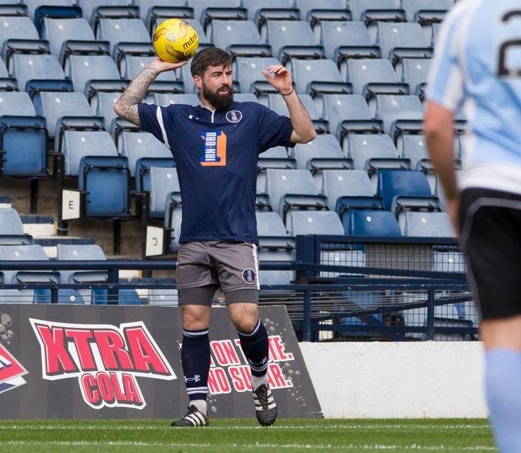 Queen's Park's Bryan Wharton in action during the Ladbrokes League One game between Queen's Park and Stenhousemuir.