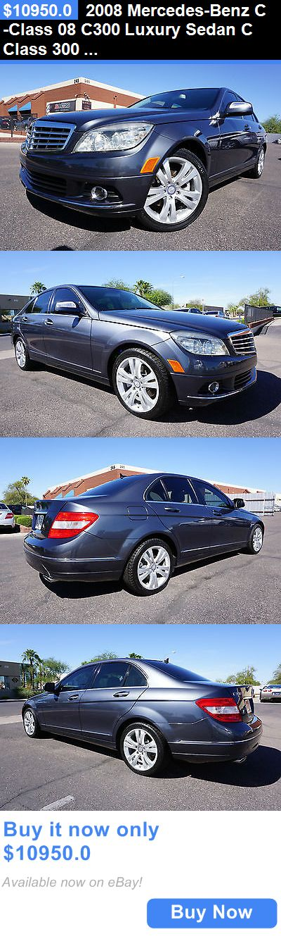 Luxury Cars: 2008 Mercedes-Benz C-Class 08 C300 Luxury Sedan C Class 300 2 Owner Clean Car 2008 Mercedes C300 Luxury Package Sedan Like 2009 2010 2011 2012 2013 C BUY IT NOW ONLY: $10950.0
