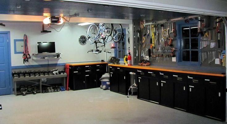 Garage kitchen cabinets | Garage Paradise | Pinterest | Kitchens ...