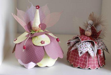 Petites fées des 4 saisons - Le petit monde de zabou