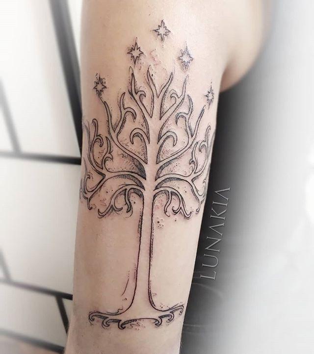 Tattoo ringe baum der herr Ents