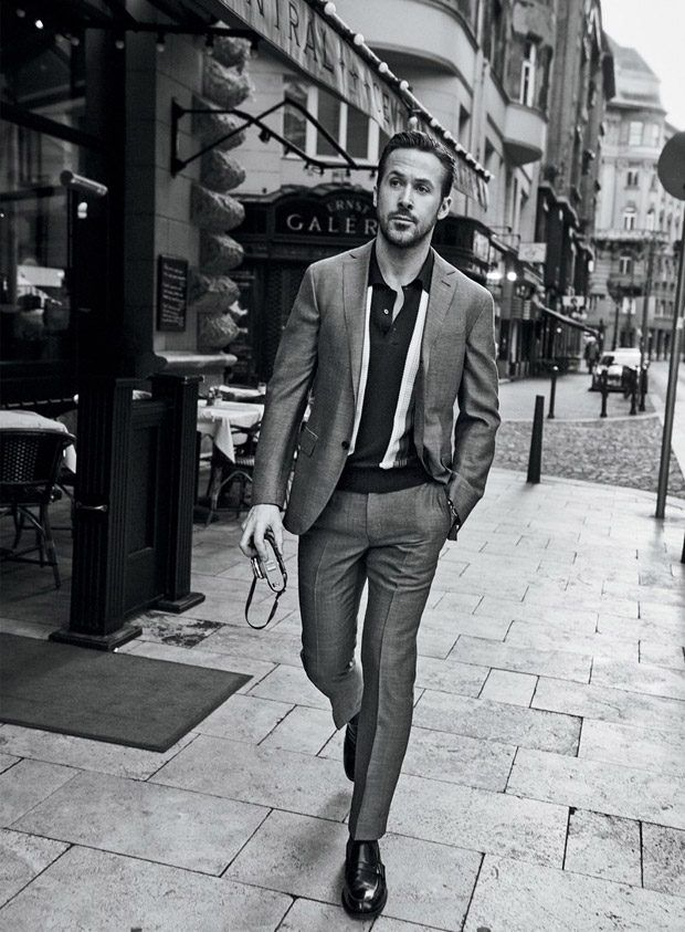 Ryan Gosling Stars in GQ Magazine January 2017