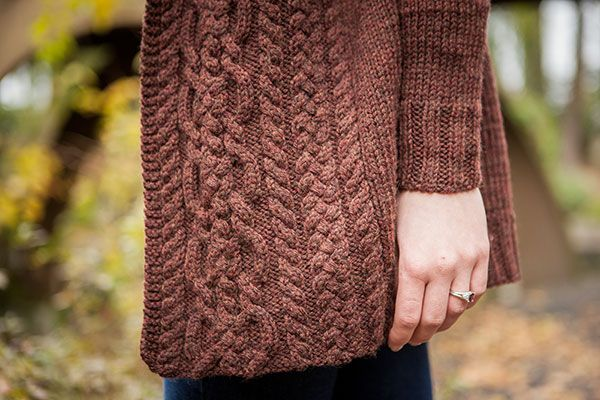 Dubline Cardigan - Knitting Patterns and Crochet Patterns from KnitPicks.com by Edited by Knit Picks Staff