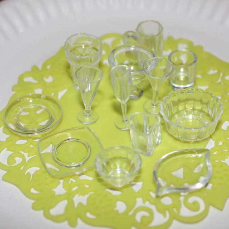 13 teilelos platte tasse teller schssel geschirr set dollhouse miniature spielzeug puppe lebensmittel kche - Beste Wohnzimmerzubehor