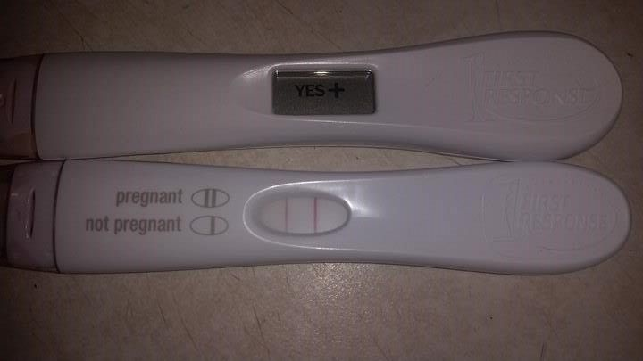 We are thrilled for surrogate mother Tara and her intended parents R&C... look at these beautiful positive tests!