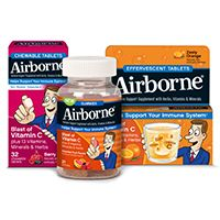 Airborne - Keep healthy