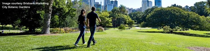 City Botanic Gardens - Brisbane Tourist Guide - Brisbane Australia