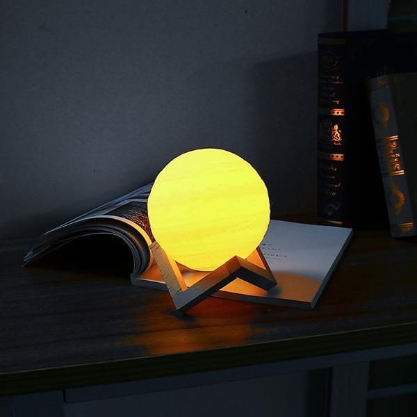 Us 28 84 15cm 3d Jupiter Lamp Usb Rechargeable Touch Sensor Color Changing Led Night Light Gift Dc5v Indoor Lighting From Lights Lighting On Banggood Com