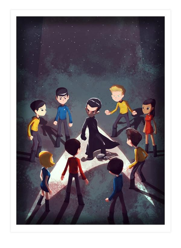 Les Fan-arts de Star Trek s'exposent à Paris
