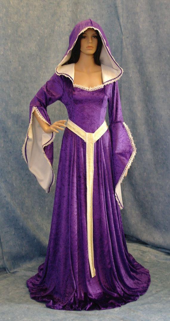 middeleeuwse renaissance elven faery renaissance jurk op maat gemaakt plus size jurk patronen(China (Mainland))