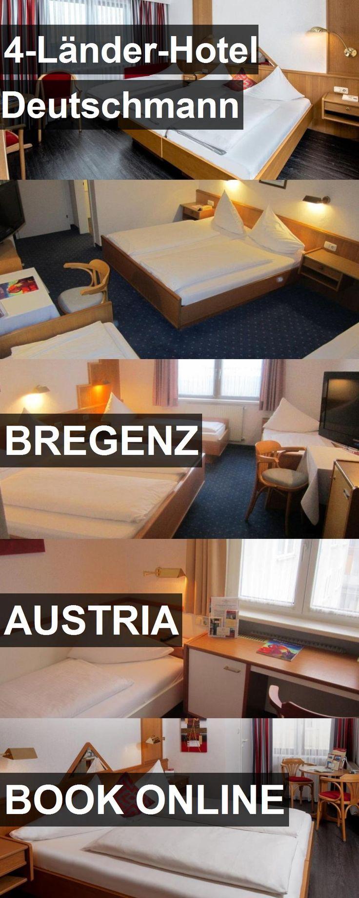 Hotel 4-Länder-Hotel Deutschmann in Bregenz, Austria. For more information, photos, reviews and best prices please follow the link. #Austria #Bregenz #4-Länder-HotelDeutschmann #hotel #travel #vacation