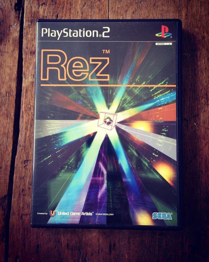 Essential selection: REZ  #TetsuyaMizuguchi #creativeforce #JunKobayashi #HiroyukiAbe #KatsuhikoYamada #KatsumiYokota #sega #2001 #dreamcast #ps2 #xbox360 #ps4 #steam #pc #kandinsky #synesthesia #vr #japan #psvr #indiedev #gamer #game #games #indiegame #g